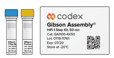 Gibson Assembly® HiFi kit<br/><small>Simple & Easy Cloning!!!</small>